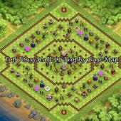 TopTownHall 11 TrophyBaseMap icon