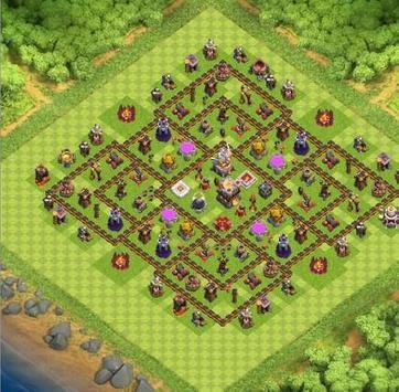 TopTownHall 11 TrophyBaseMap apk screenshot