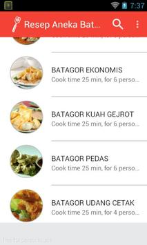 Resep Cara Bikin Batagor Enak screenshot 1