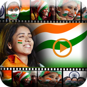 Independence Day Video Maker 2017 icon