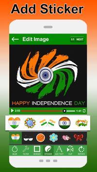 Independence Day Video Maker 2017 apk screenshot
