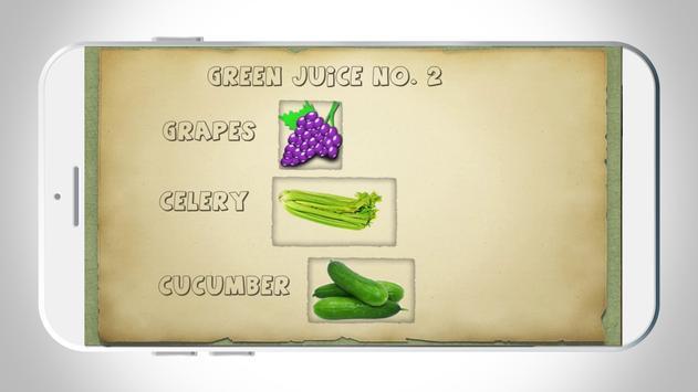 Green juice loses weight apk screenshot