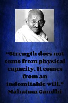Mahatma Gandhi QuotesWallpaper apk screenshot