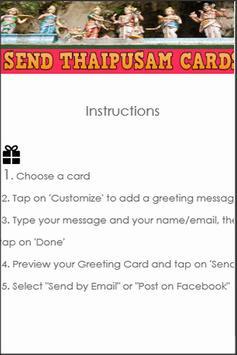 Thaipusam Greeting eCards DIY apk screenshot