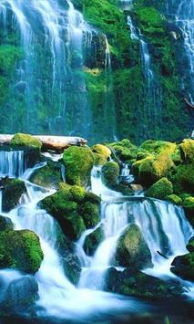 Large cascade live wallpaper screenshot 1