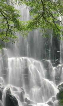 Wonderful wall of waterfall poster