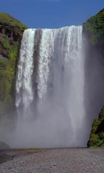 The outstanding huge waterfall poster