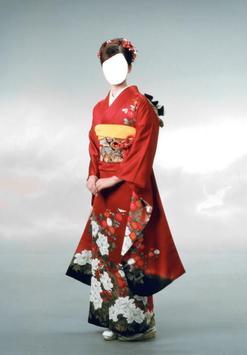 Kimono dress Photo frames poster