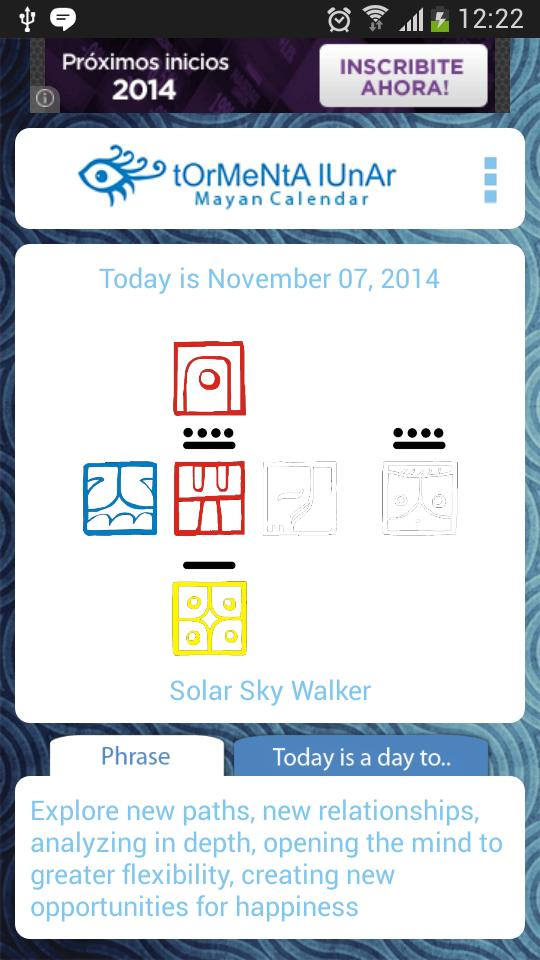 Kin Calendar.Mayan Calendar Kin Of The Day For Android Apk Download