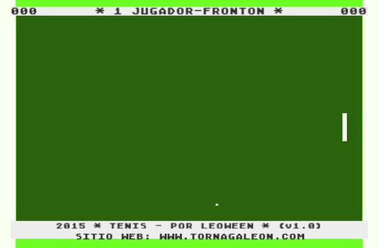Tenis - Fronton apk screenshot