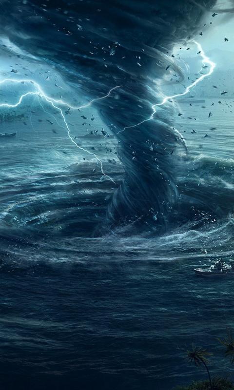 tornado live wallpaper poster ...