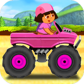 Girl Hill Climb Racing icon