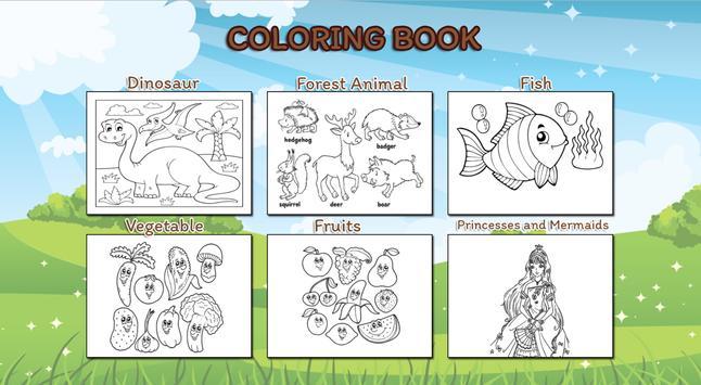 Libro para colorear los niños for Android - APK Download