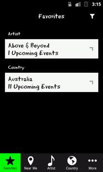 DanceGigs screenshot 1