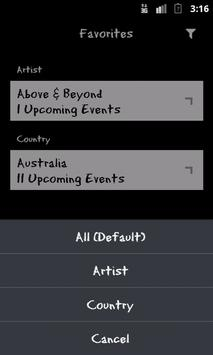 DanceGigs apk screenshot