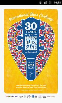 International Blues Challenge poster