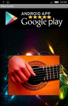 real guitar poster