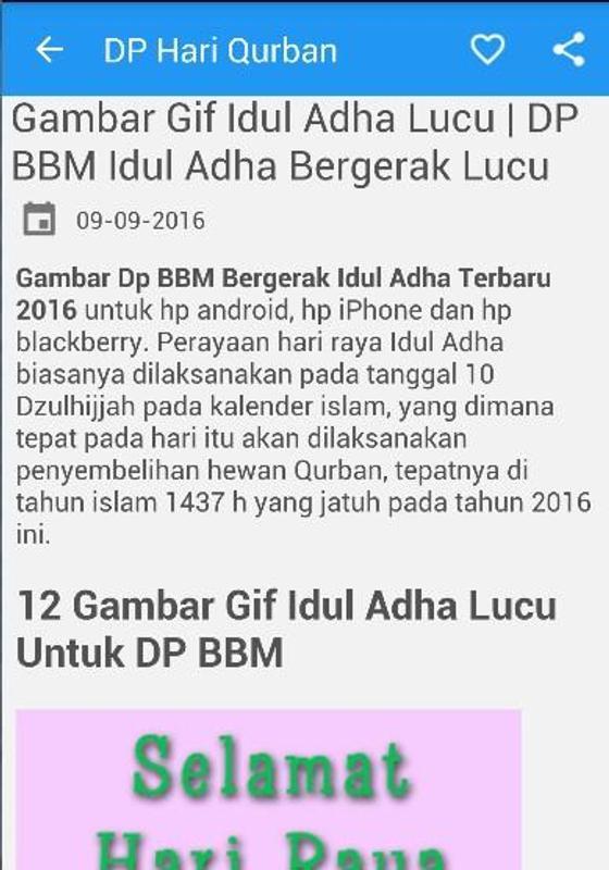 Dp Qurban Idul Adha Bergerak For Android Apk Download