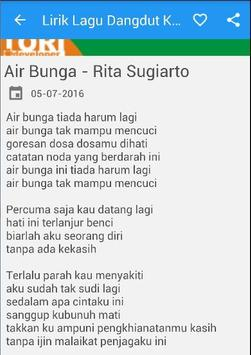 Lirik Lagu Dangdut Koplo screenshot 1