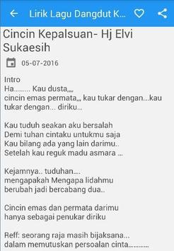 Lirik Lagu Dangdut Koplo screenshot 2