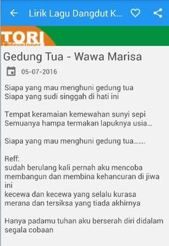 Lirik Lagu Dangdut Koplo screenshot 3