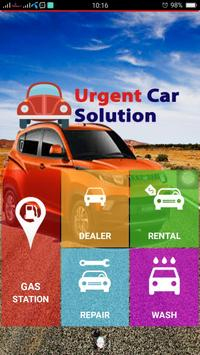 Urgent Car Solution poster