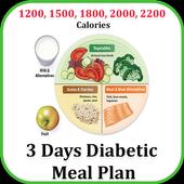 3 Day Diet : Diabetic Patients Diet in 3 Days icon
