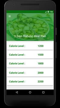 3 Day Diet : Diabetic Patients Diet in 3 Days poster