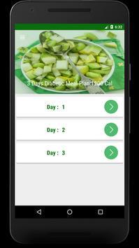 3 Day Diet : Diabetic Patients Diet in 3 Days screenshot 1