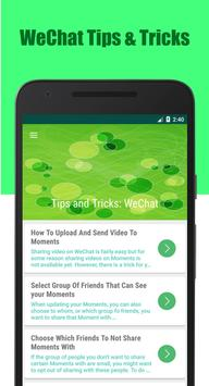 Tips & Tricks For WeChat poster