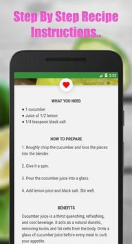 Fruit & Vegetable Diet Juice screenshot 4