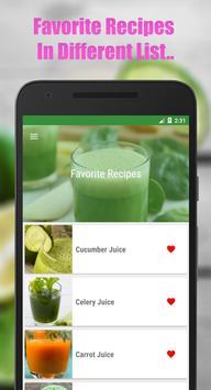 Fruit & Vegetable Diet Juice screenshot 5