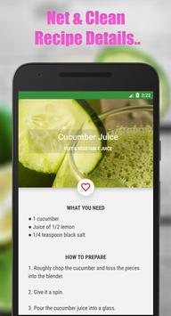 Fruit & Vegetable Diet Juice screenshot 2