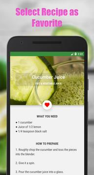 Fruit & Vegetable Diet Juice screenshot 3