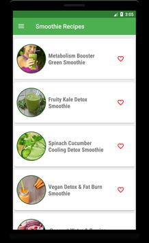 Detox Smoothie: Green Smoothie Cleanse And Detox screenshot 1