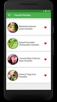 Detox Smoothie: Green Smoothie Cleanse And Detox screenshot 3