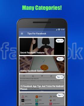 Tips & Tricks For Facebook screenshot 1
