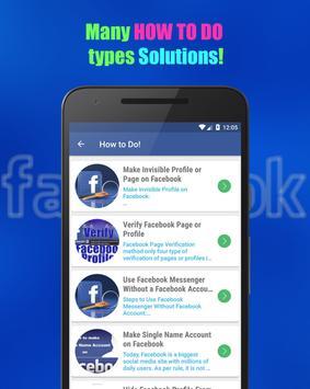 Tips & Tricks For Facebook screenshot 5