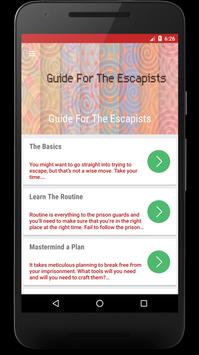 Guide For The Escapists poster
