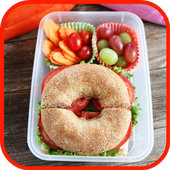 Kids Lunch Box: Tiffin Recipes for Kids in Offline icon