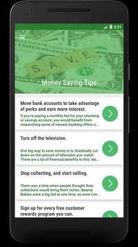 Money Saving Tips : How To Save And Increase Money poster