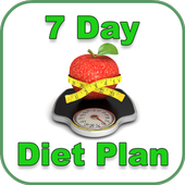 7 Day Weight Loss Diet Plan - Diet Plan For 7 Days icon