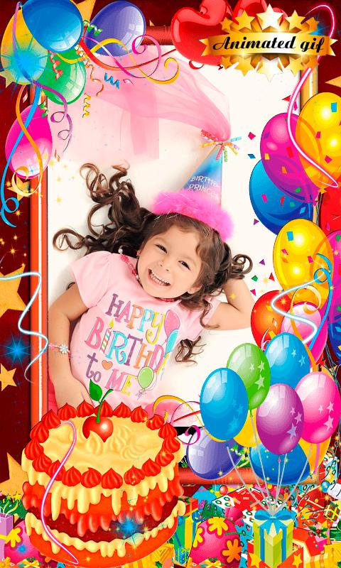 Happy Birthday Gif Photo Frames For Android Apk Download