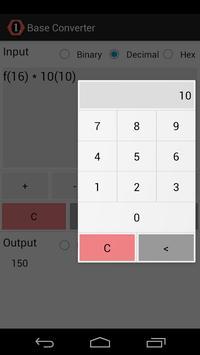 Base Converter apk screenshot