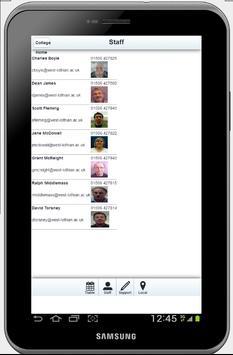 WLC TimeTables apk screenshot