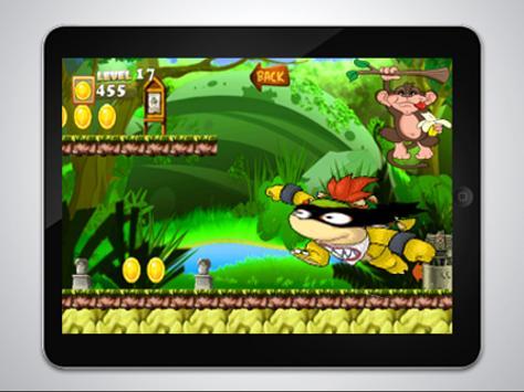 Turtle jungle -ninja Adventure apk screenshot