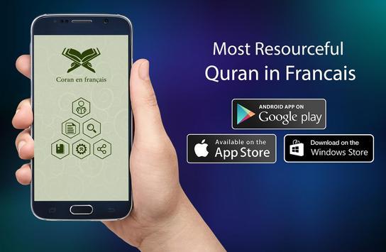 Coran en français poster