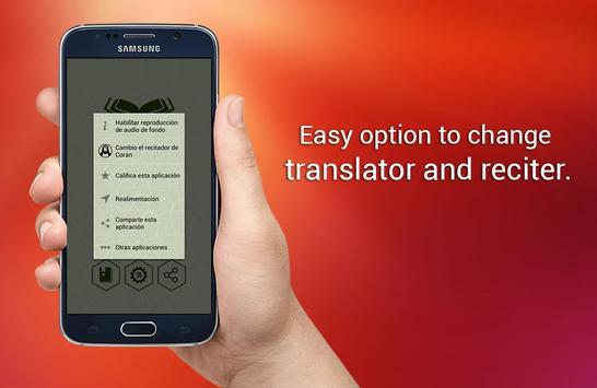 Corán en español apk screenshot