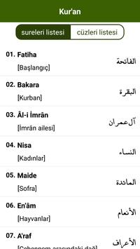 Kur'an-ı Kerim screenshot 1