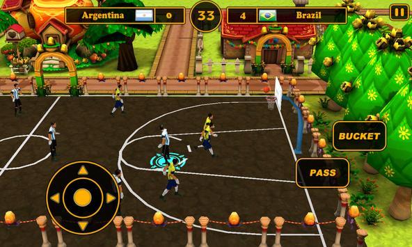 Fantasy Basketball 2015 screenshot 1